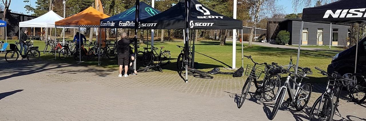 Lördagen den 4 maj arrangerar vi på nytt vår populära cykeldag